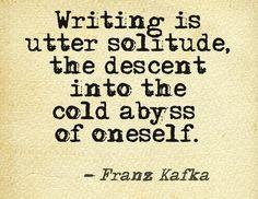 Writer's Solitude