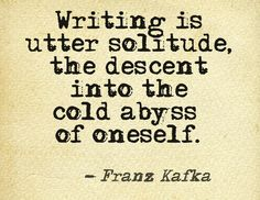 Writer's Solitude