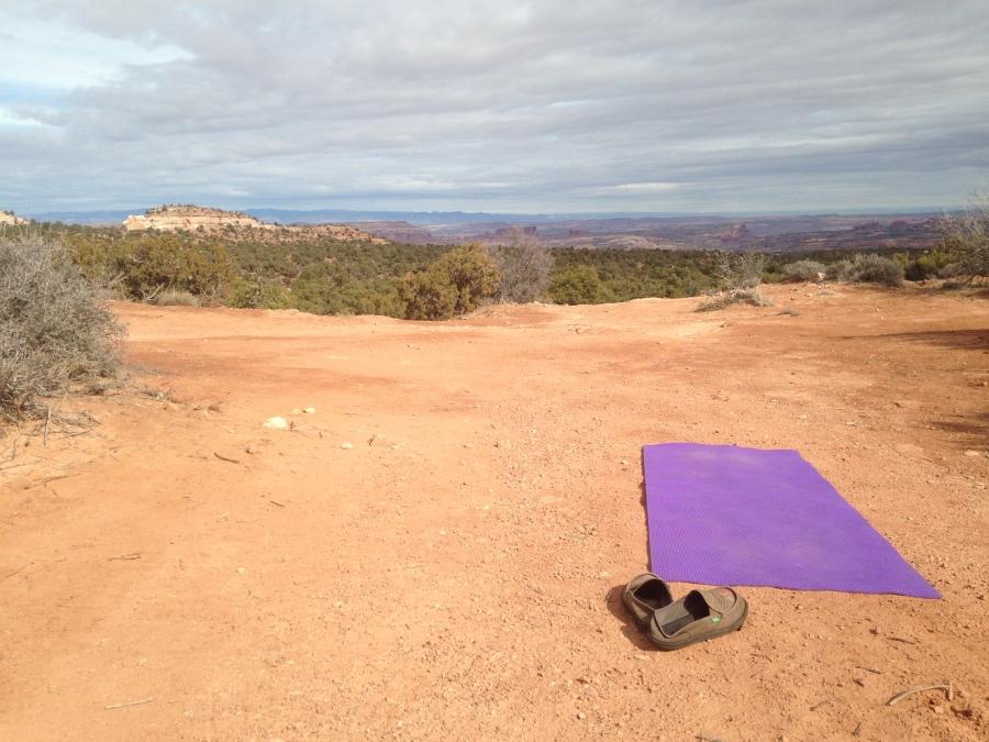 The deserts of Moab, UT