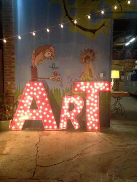 Hidden art show in New Orleans